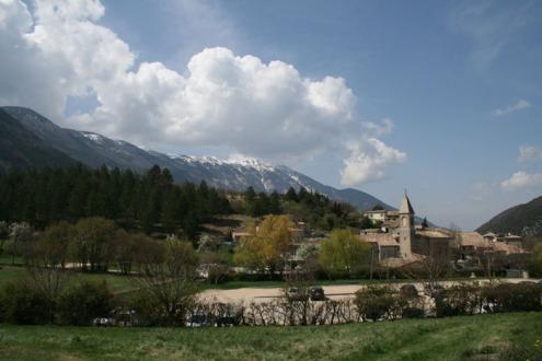 Le Mont Ventoux, ou la vue que j'avais depuis mon stand…